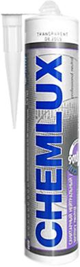 Chemlux 9018 Санитарный Нейтральный профессиональный герметик силиконовый (300 мл) бесцветный