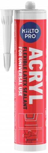 Kiilto Acryl акриловый герметик (310 мл) белый