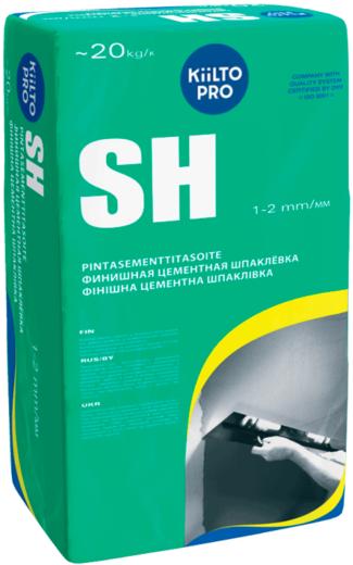 Финишная цементная шпаклевка Kiilto SH (20 кг)