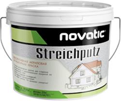 Feidal Novatic Streichputz Silikon декоративная силиконовая штукатурка (25 кг) белая мелко-шероховатая зернистость