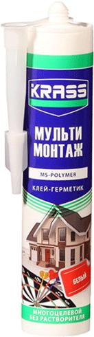 Krass Мульти Монтаж клей-герметик многоцелевой без растворителя