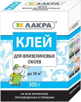 Лакра клей для флизелиновых обоев (300 г)