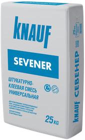 Кнауф Севенер штукатурно-клеевая смесь универсальная