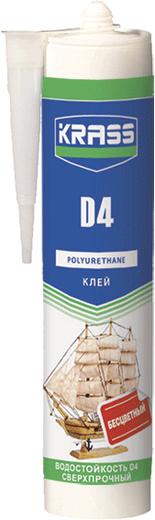 Krass D4 клей полиуретановый водостойкий сверхпрочный
