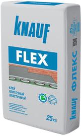 Кнауф Флекс клей плиточный эластичный (25 кг)