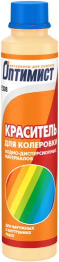 Оптимист E 308 краситель для колеровки водно-дисперсионных материалов (750 мл) №111 красно-коричневый