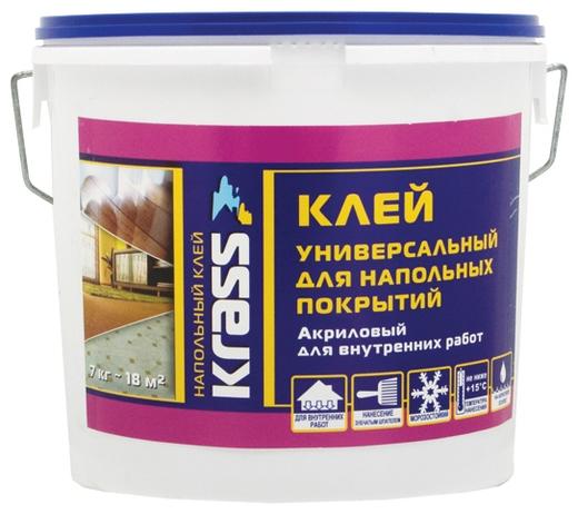 Krass клей универсальный акриловый для напольных покрытий