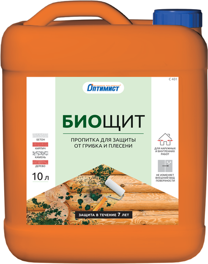 C 401 биощит для защиты от грибка и плесени 1 л