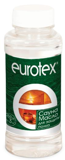 Евротекс Сауна масло для защиты полка натуральное (800 мл)