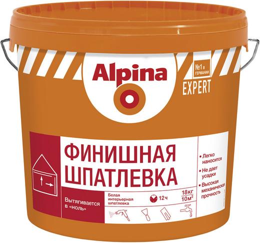 Шпатлевка Alpina Expert финишная (18 кг)