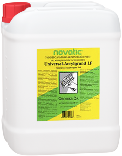 Feidal Novatic Universal Acrylgrund LF грунтовка акриловая универсальная укрепляющая (10 л) неморозостойкая