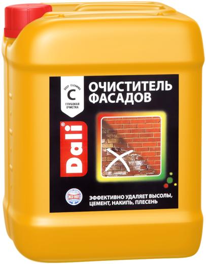 Очиститель Dali Фасадов от солевых загрязнений 10 л