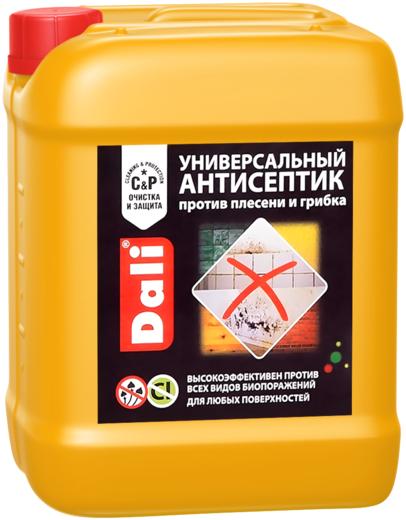 Антисептик Dali Универсальный против плесени и грибка для любых поверхностей 5 л