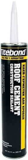 Клей-герметик для кровли Titebond Roof Cement Construction Sealant (305 мл) черный