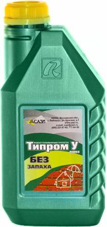 Типром У гидрофобизатор без запаха на очищенном растворителе