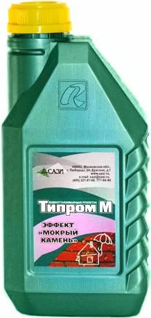 Типром М модификатор цвета эффект мокрый камень