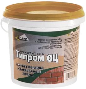 Типром ОЦ очиститель фасадов