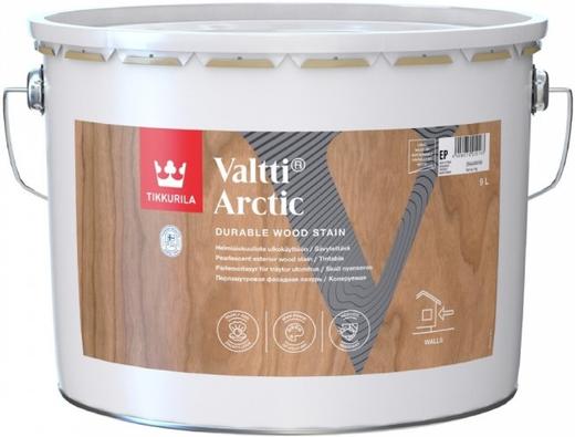 Тиккурила Валтти Арктик перламутровая фасадная лазурь (9 л)