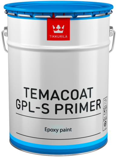 Тиккурила Темакоут ГПЛ-С Праймер двухкомпонентная эпоксидная грунтовочная краска (20 л база TVH) белая