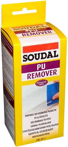 Soudal PU Remover удалитель затвердевшей монтажной пены
