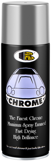 Bosny Chrome спрей-краска