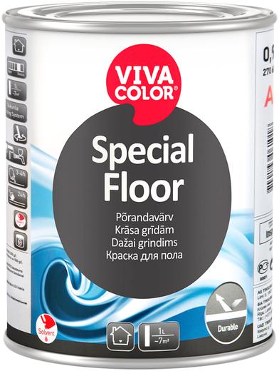 Vivacolor Special Floor краска для пола (900 мл) бесцветная