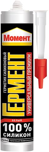 Момент Гермент Премиум герметик силиконовый универсальный (85 мл) белый