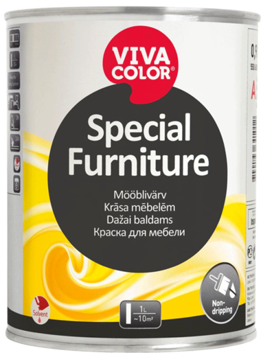 Vivacolor Special Furniture краска для мебели (900 мл) белая