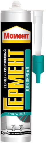 Момент Гермент герметик силиконовый для зеркал универсальный нейтральный (280 мл) бесцветный