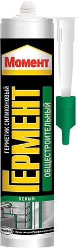 Момент Гермент герметик силиконовый общестроительный нейтральный (280 мл) белый