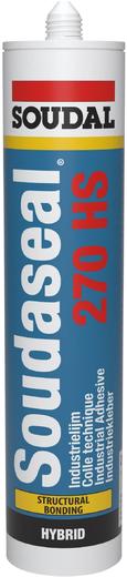 Soudal Soudaseal 270HS конструкционный клей-герметик (600 мл) белый