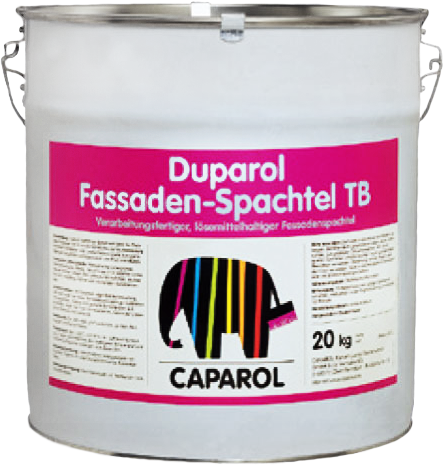 Caparol Duparol Fassaden-Spachtel TB готовая к применению фасадная шпатлевка (30 кг)