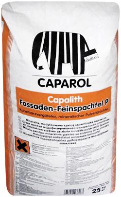 Caparol Capalith Fassaden-Feinspachtel P порошкообразная тонкая шпатлевочная масса для фасадов (25 кг)