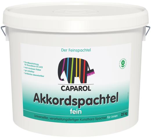 Caparol Akkordspachtel Fein готовая к применению пастообразная дисперсионная шпатлевка