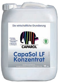 Caparol CapaSol LF Konzentrat специальное водоразбавляемое непигментированное средство для грунтования