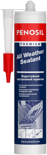 Герметик Penosil Premium All weather sealant водостойкий каучуковый 310 мл бесцветный