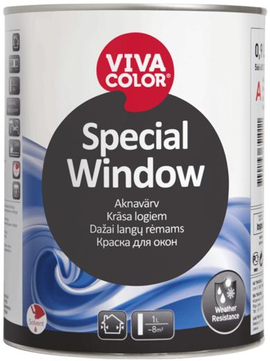 Vivacolor Special Window краска для окон тиксотропная (900 мл) белая