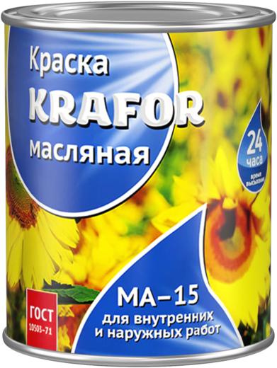 Крафор МА-15 краска масляная (7 кг) желто-коричневая