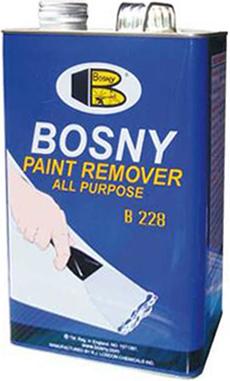 Bosny Paint Remover смывка краски универсальный гель (400 г)