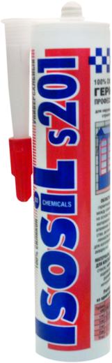 Iso Chemicals Isosil S201 Универсальный силиконовый герметик (280 мл) серый