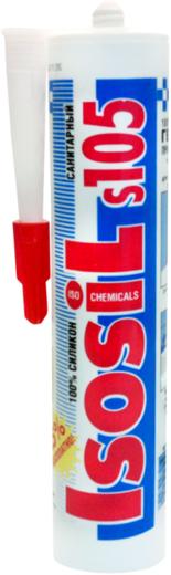 Силиконовый герметик Iso Chemicals Isosil S105 Санитарный (280 мл) белый