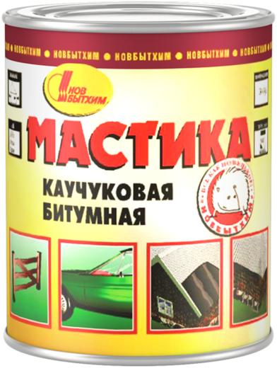 Новбытхим мастика каучуковая битумная гидроизоляционная