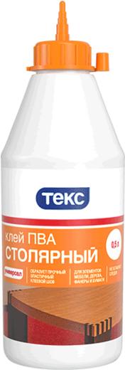 Текс Универсал ПВА клей столярный (500 мл) неморозостойкий