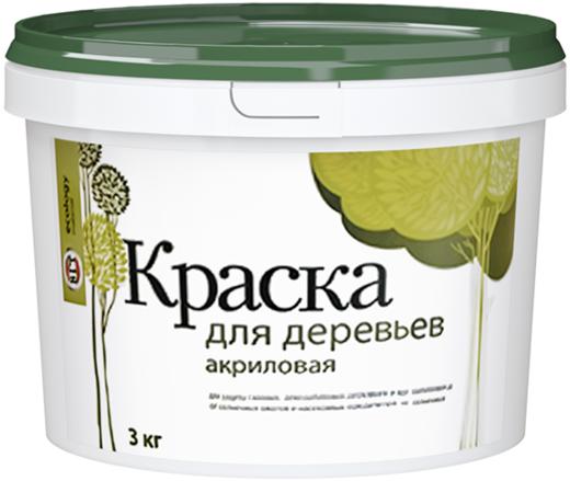 ВГТ ВД-АК-1180 краска для садовых деревьев акриловая (7 кг) белая