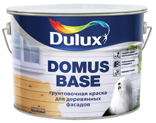 Dulux Domus Base грунтовочная краска для деревянных фасадов (10 л) белая