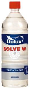 Dulux Solve W уайт-спирит синтетический разбавитель для лаков и красок (1 л)
