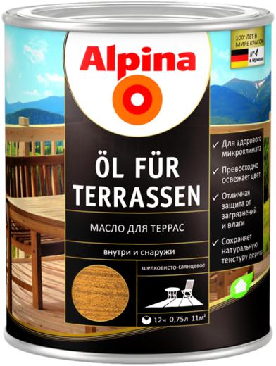 Alpina Ol fur Terrassen масло для террас