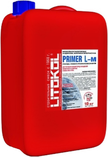Литокол Primer L-m грунтовка для подготовки оснований
