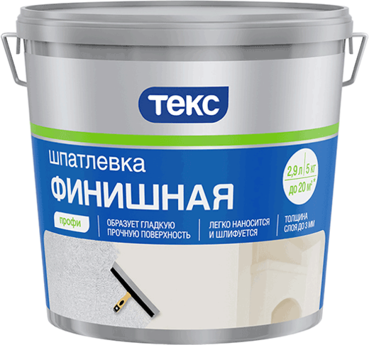 Текс Профи шпатлевка финишная (1.5 кг)