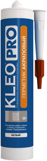 Kleo Pro герметик акриловый (280 мл) белый